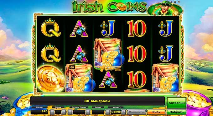 игровой автомат Irish Coins